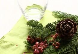 簡単クリスマスのアレンジメント