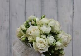 花嫁のためのブーケレッスン
