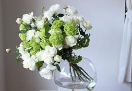お花とグリーンの合わせ方