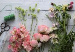 お花とグリーンの合わせ方2