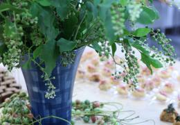 お花を入れる順番は?